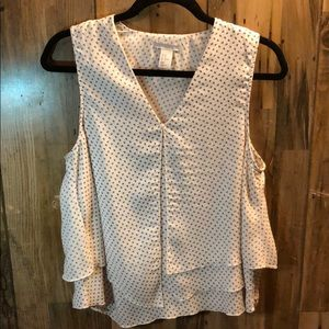H&M Tiered Sleeveless Top